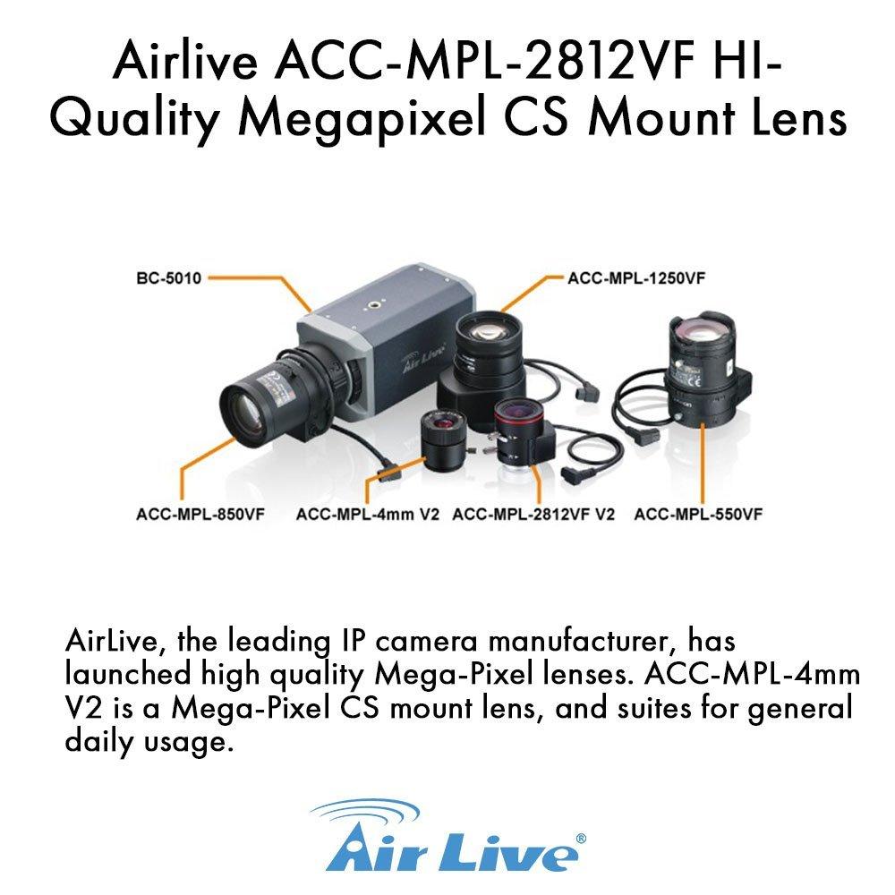 Airlive ACC-MPL-2812VF HI-Quality Megapixel CS Mount Lens