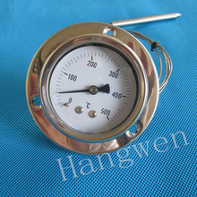 Industrial usage bolier or oven capillary thermometer
