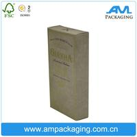 China wholesale custom black printing recycle packaging cardboard cigarette box