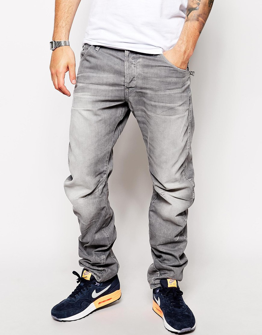 2015 Light Grey Color Jeans Pants Design Formal Style Wholesale Custom Jeans Design New Design ...