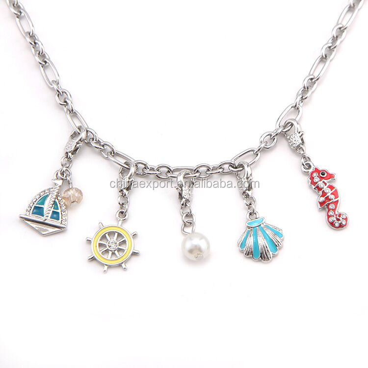 Small charms drop pendant for hanging necklace DIY jewelry accessories
