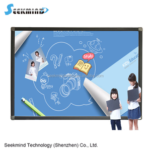 Digital whiteboard with built-in educational software