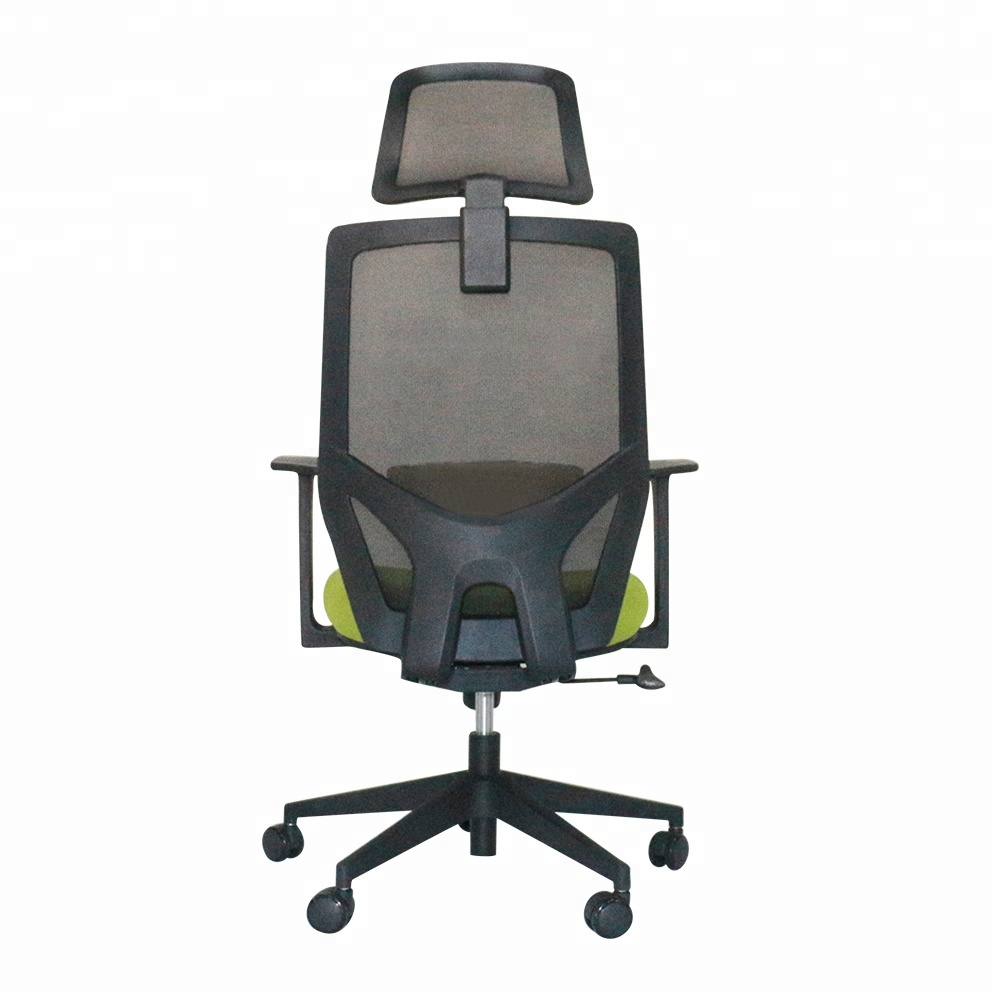 Cheap Black Full Mesh office chair with footrest, executive office chair mesh