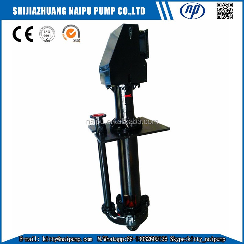 30 years factory 65QV-SP vertical sand mud pump for slurry