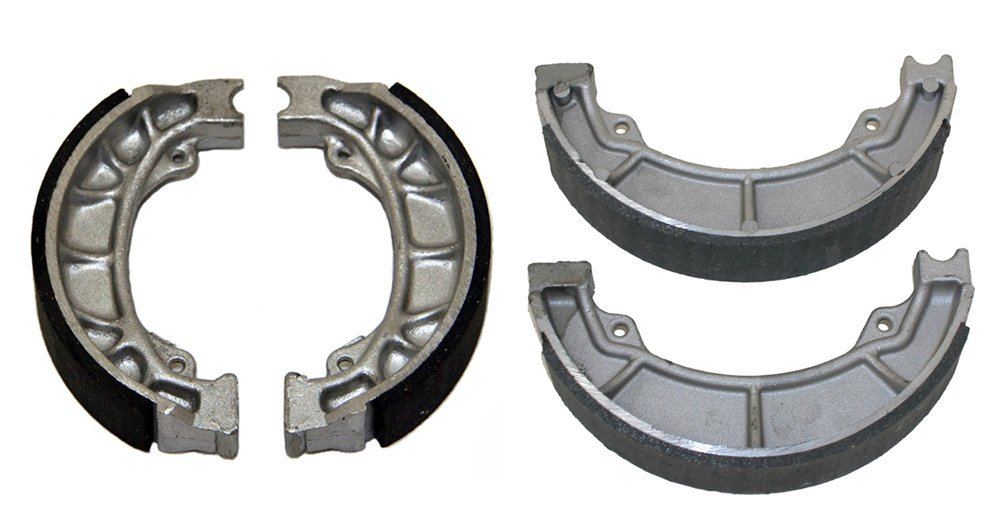 Factory Spec, KIT-7115116, Front & Rear Brake Shoes Honda ATC185, ATC185S, ATC200, ATC200E, ATC200ES, ATC125M