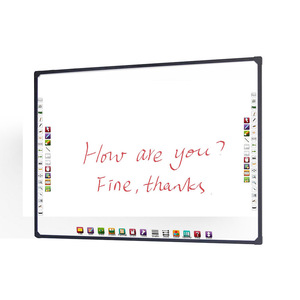 School supplier 4-touch active interactive whiteboard best smart board for classroom