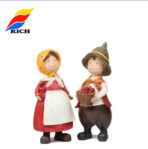 Promotional gift items Customized small resin figurines