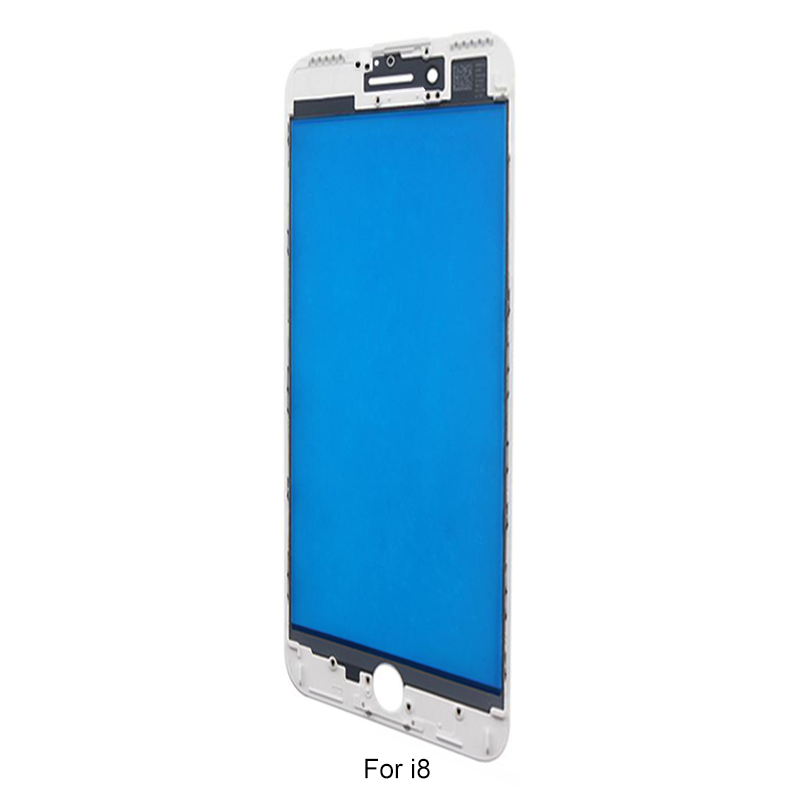 Formike Outer Glass With Bezel And OCA And Pol Film Assembly For Iphone 8