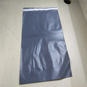 High Quality Grey Recycle Plastic Polythene Mailing Bag for Delivery , parcel packaging