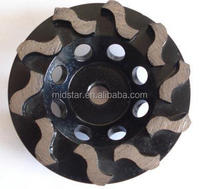 Midstar Cup Grinding Diamond Wheel, Metal Bond