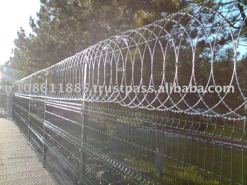 Flat Wrap Razor Wire - Buy Razor Barbed Wire,Barbed Wire,Razor Wire ...