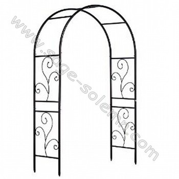 Custom Design Wrought Iron Garden Arch