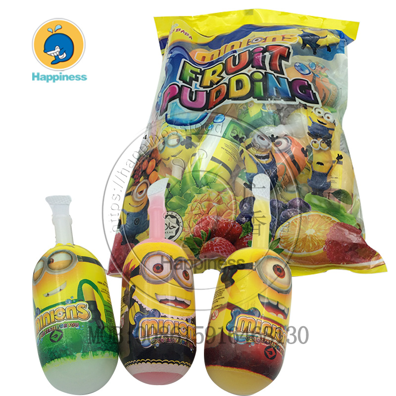 pudding jelly fruit flavor ice pop