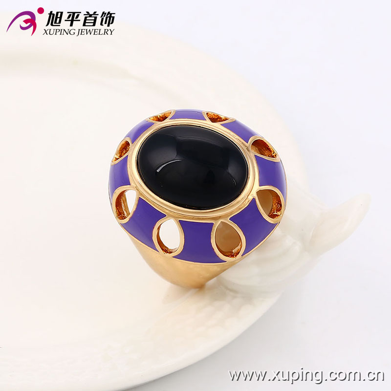 13717 Xuping fashion beautiful gold ring designs, alloy jewelry rings for men and women