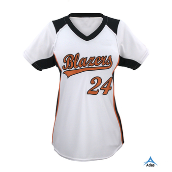 Custom Female Baseball Jersey Softball For S Youth Fashionable T Shirt With Customized Design