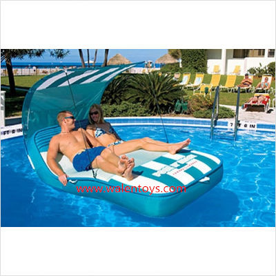 X Grote Super Luxe Zwembad Opblaasbare Ligstoel Float