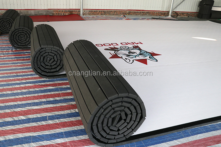 big size pvc sponge exercise taekwondo floor mat bjj competition for kids