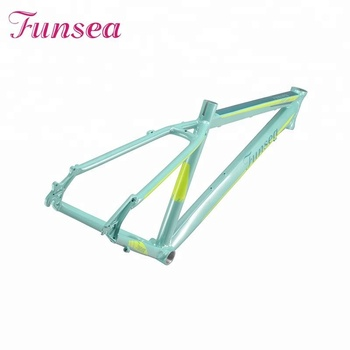 Funsea china famous brand supply bicycle parts 26 inch mountain bike frame aluminum alloy 6061# MTB mini bike mtb bicycle frame