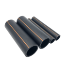 Flexible Polyethylene Natural High Quality Line Hdpe Gas Supply Pipe With Yellow Strip