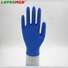 Aql 1.5 Blue Medical Cheap Disposable Nitrile Gloves Embossed For Examine Use