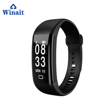 10 Meters Waterproof Smart Bracelet 0.91 OLED Screen Buletoth Bracelet Android Watch With Heart Rate Monitor