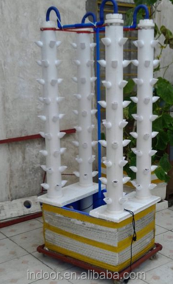 Growing Vegetables Vertical Garden Hydro Growing System