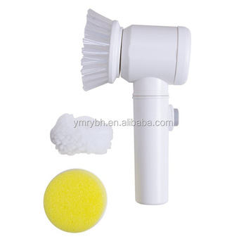5 In 1 Powerful Cleaning Brush Electric Magic Bath Brush For