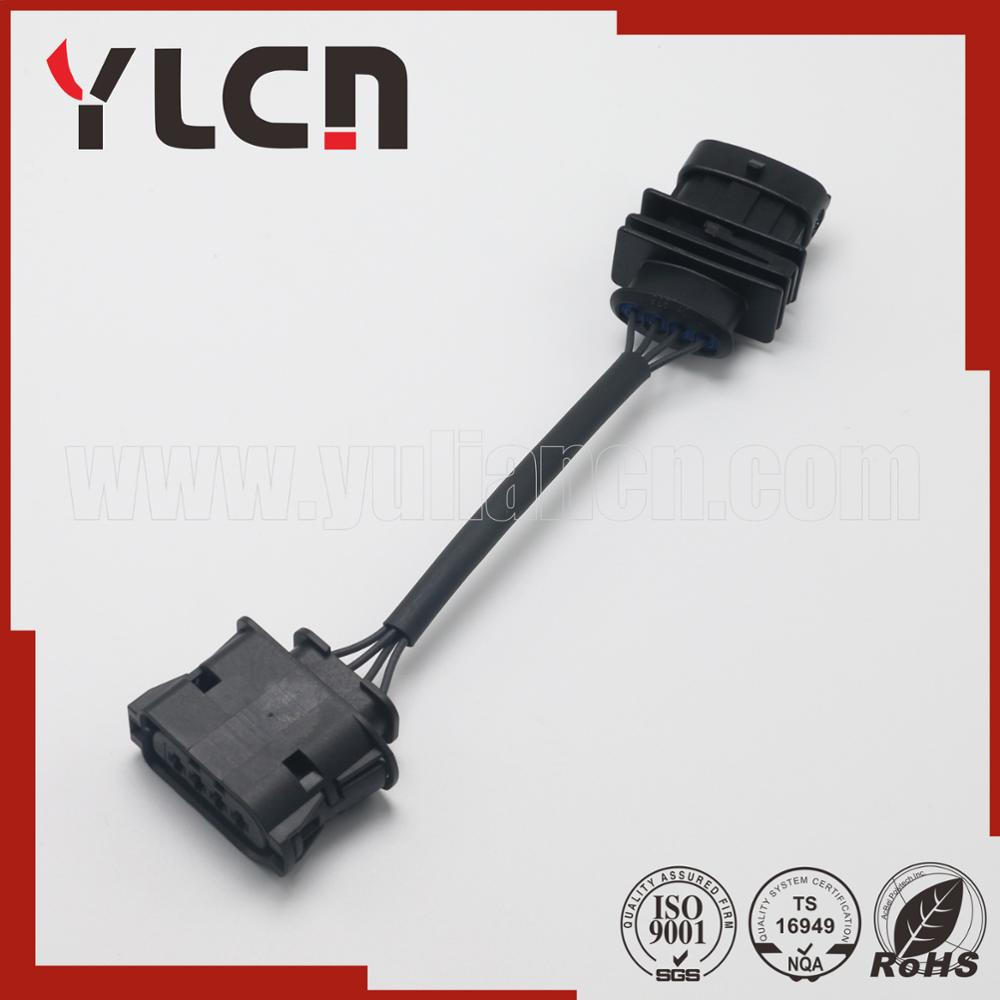 Manufacturer Free Samples 4 Pin Automotive Connector Female Wire Gm Wiring Harness Pins Pa66 Waterproof Connectors 1