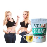 Customized Unisex Flat Tummy Slimming Tea Detox Fat Burner Herbal Tea Packed in 14/28 days
