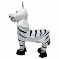 Good quality hot selling 2 person zebra mascot for adult to wear custom made 2 person zebra mascot