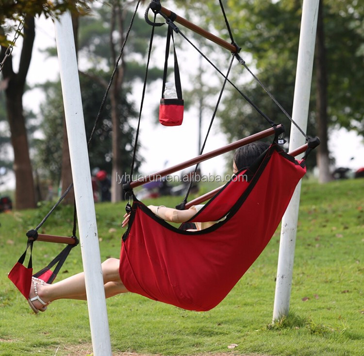 White Color Hammock Chair With Armrest Bsci Factory Buy Swing
