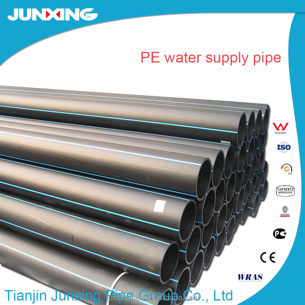 DN 20mm to 1600mm SDR11 ISO4427 PE100 hdpe pipes PEHD pipes AS/NZ4130/GOST standard