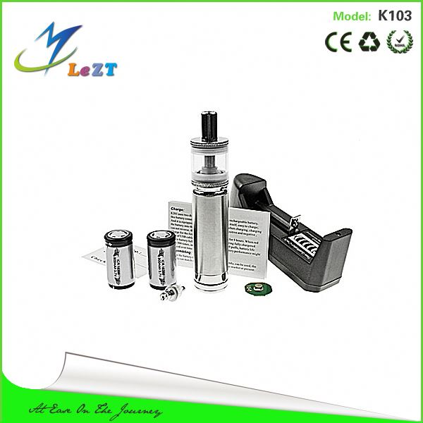2.5ml Cartomizer Kamry K103 Stainless Steel Ecig Mechanical Mod kamry k103 New Electroni cigarette