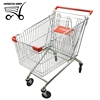 Anti Rust Carrefour Shopping Cart Trolley 180L for Shopping Centre