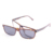 2018 High Quality 5 in 1 Plastic Frames Glasses Lens Attachment Flip Up Mirrored Clip Turn On Rectangle Men Magnet Sunglasses