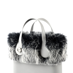 New design Faux Fox Raccoon Fur Plush Trim for Obag Thermal Plush Decoration  for O bag Chic 6d034bcdef96a