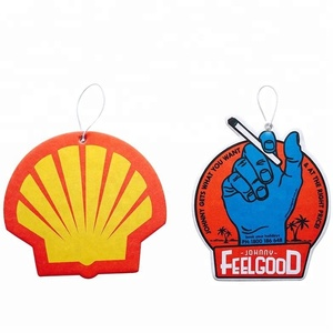 Factory price hanging Paper Car Air Freshener for car