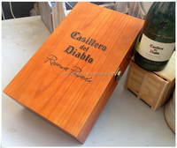 Reliable Chinese Supplied Wood Boxes Wholesale, For Brand Names of Red Wines Packaging, Wine Box Wood