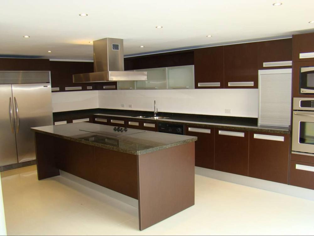 2014 Cheap Modern Modular Kitchen Cabinet Door Price For