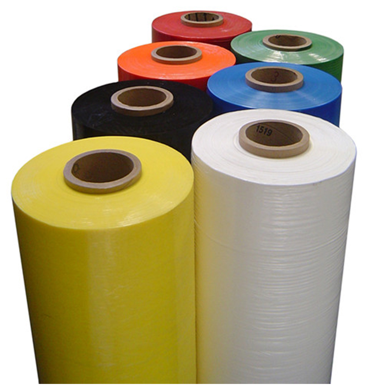 Transparante stretch film jumbobroodje, 50 micron polyethyleen jumbo stretch wrapping film