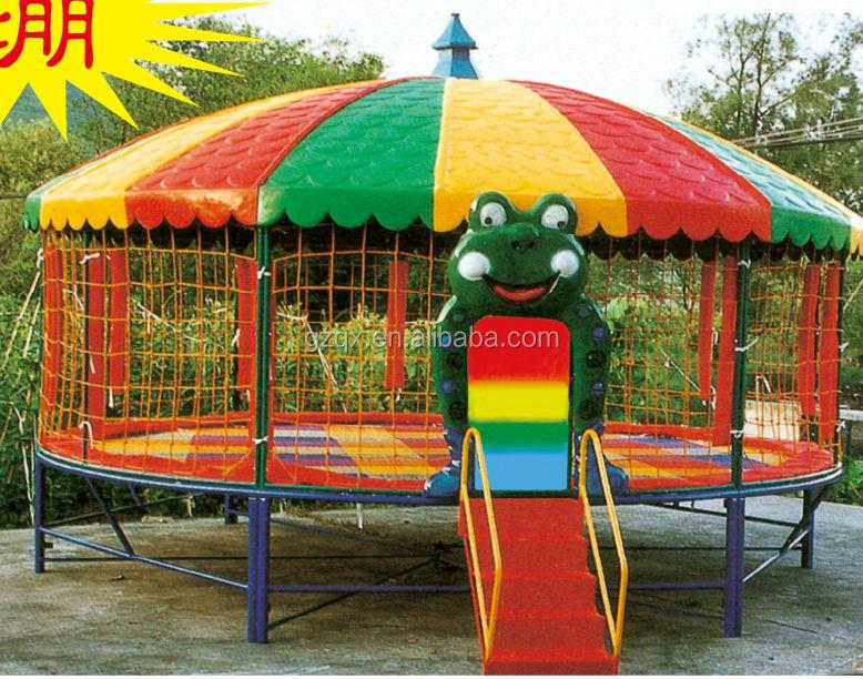 12 Foot Park Round Bungee tr&oline/Tr&oline tent/tr&oline tr&oline QX-117D & 12 Foot Park Round Bungee Trampoline/trampoline Tent/trampoline ...
