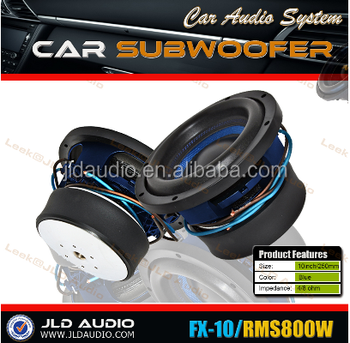 12 Inch High Performance Jld Audio Spl Subwoofer Car Competition 800-1600w  With Wire Subwoofer - Buy Output Power Subwoofer Amplifier,Mask Making