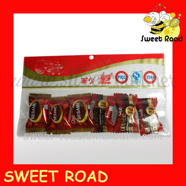 sesame toffee soft milk candy