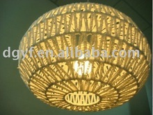Bamboo Chandelier LED Lamp Shade