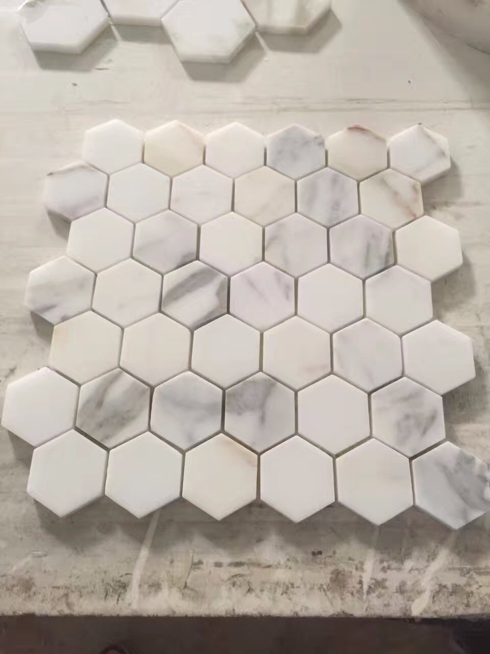 3 Home Decor Trends For Spring Brittany Stager: Polished Bianco Carrera White Marble Trims Collection