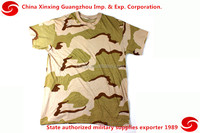 camouflage military T-shirt sous-vetement bariole