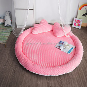 Round Infant Kid Infant Baby Cot mattress