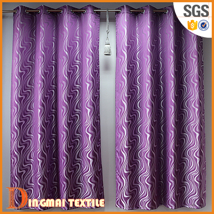 2017 100% polyster thread door photo print curtains and drapes