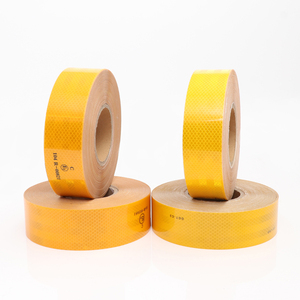 3m quality waterproof yellow pvc reflective tapes for clothing