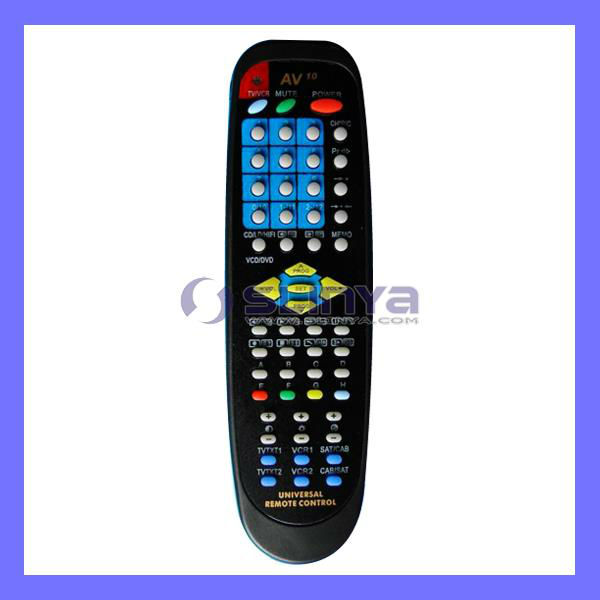 Universal 10 in 1 RF Remote Controller For TV DVD VCD